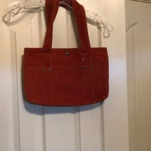 Levi's burnt orange purse
